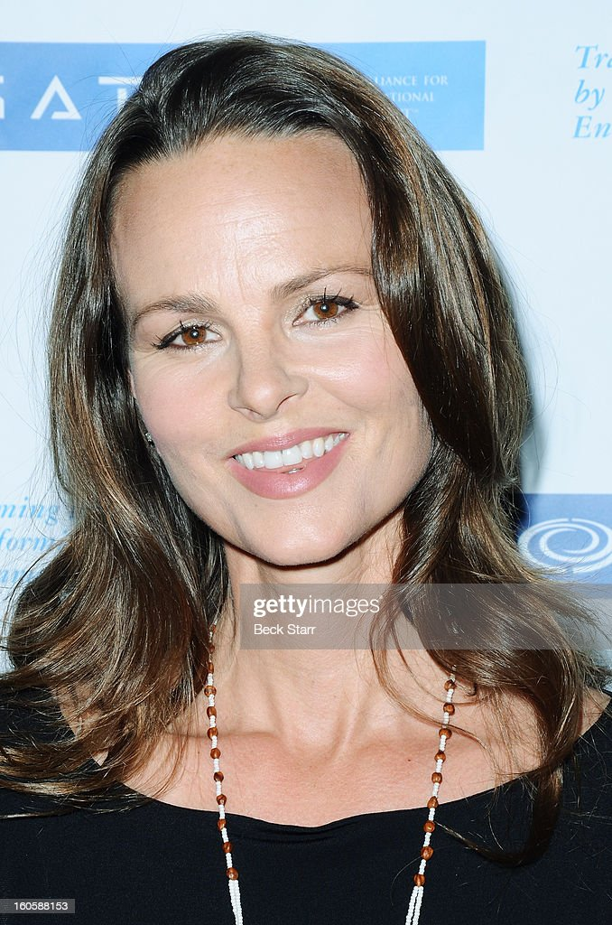 Producer Heather Rae arrives at 'GATE' Global Alliance For Transformational Entertainment's 3rd annual green carpet event at Saban Theatre on...