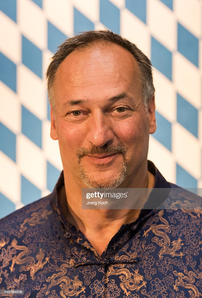 Producer Helmut Hartl attends a press conference about the movie 'Love of Alps (AT)' during the Munich Film Festival 2016 at Ampere-Muffatwerk on June 30, 2016 in Munich, Germany.
