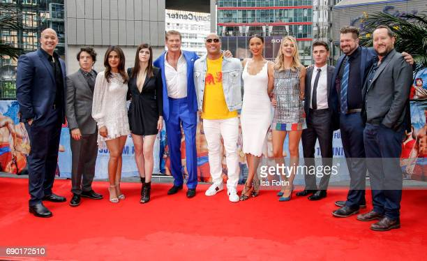 Producer Hiram Garcia Actor Jon bass Indian actress and singer Priyanka Chopra US actress Alexandra Daddario US actor David Hasselhoff US Wrestler...