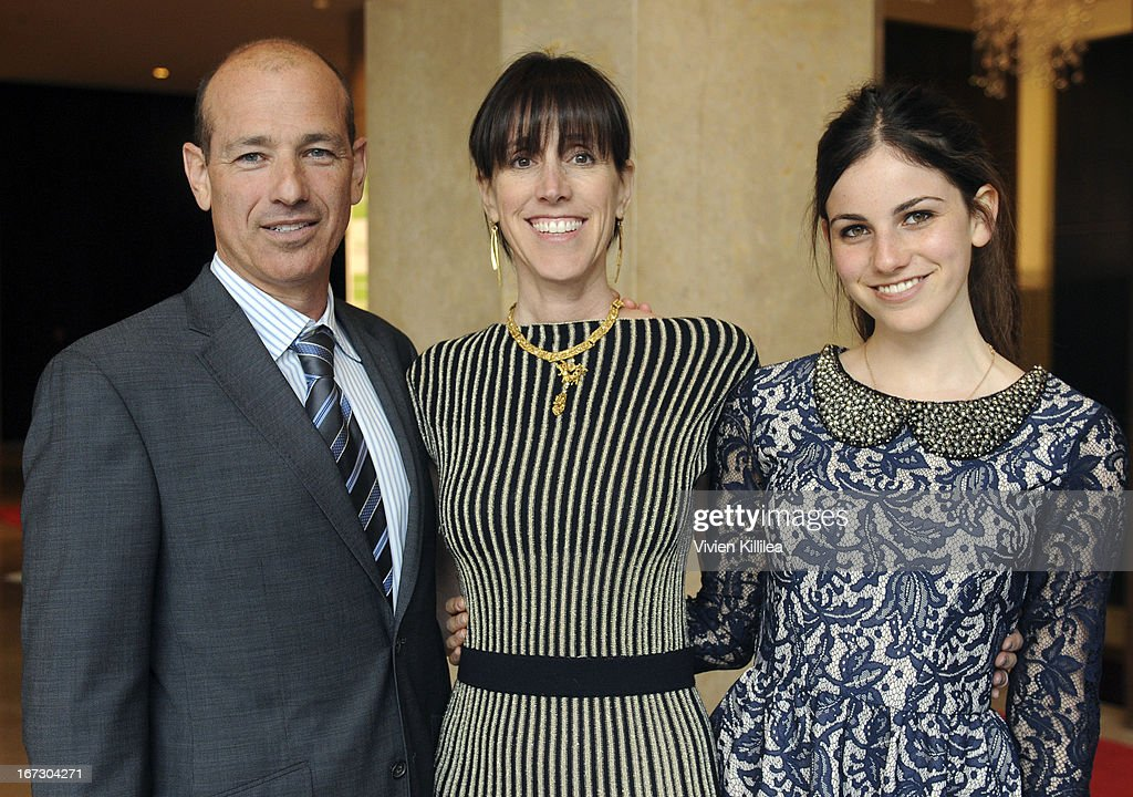 Producer Howard Gordon, Cambria Gordon and Arlo Gordon attend Liberty Hill's Upton Sinclair Awards Dinner Honors - Show at The Beverly Hilton Hotel on April 23, 2013 in Beverly Hills, California.