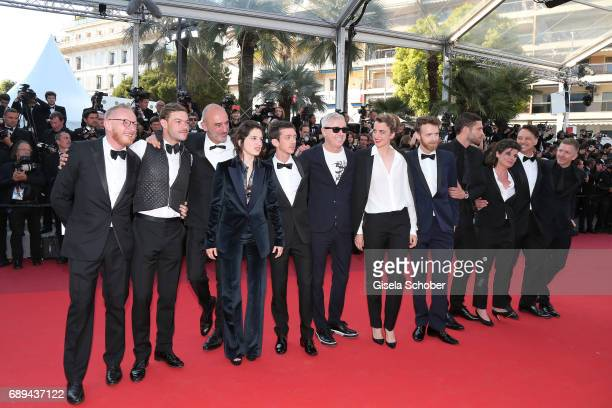 Producer Hugues Charbonneau actor Felix Maritaud guest actors Aloise Sauvage Nahuel Perez Biscayart director Robin Campillo actors Adele Haenel...