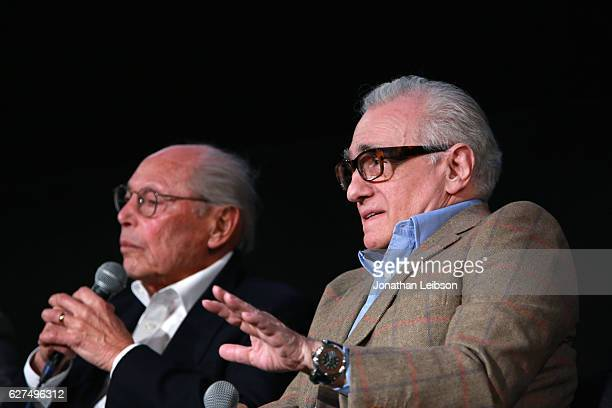 Producer Irwin Winkler and director Martin Scorsese at the American Cinematheque conversation with Director Martin Scorsese and Producer Irwin...