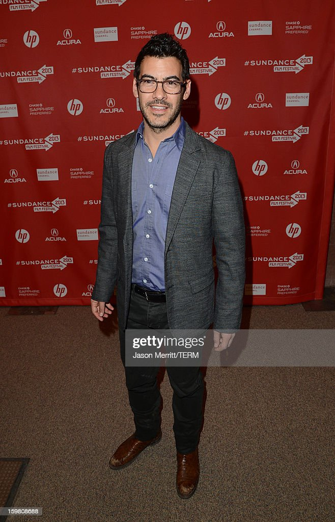 Producer Jacob Pechenik attends the 'Before Midnight' premiere at Eccles Center Theatre on January 20, 2013 in Park City, Utah.