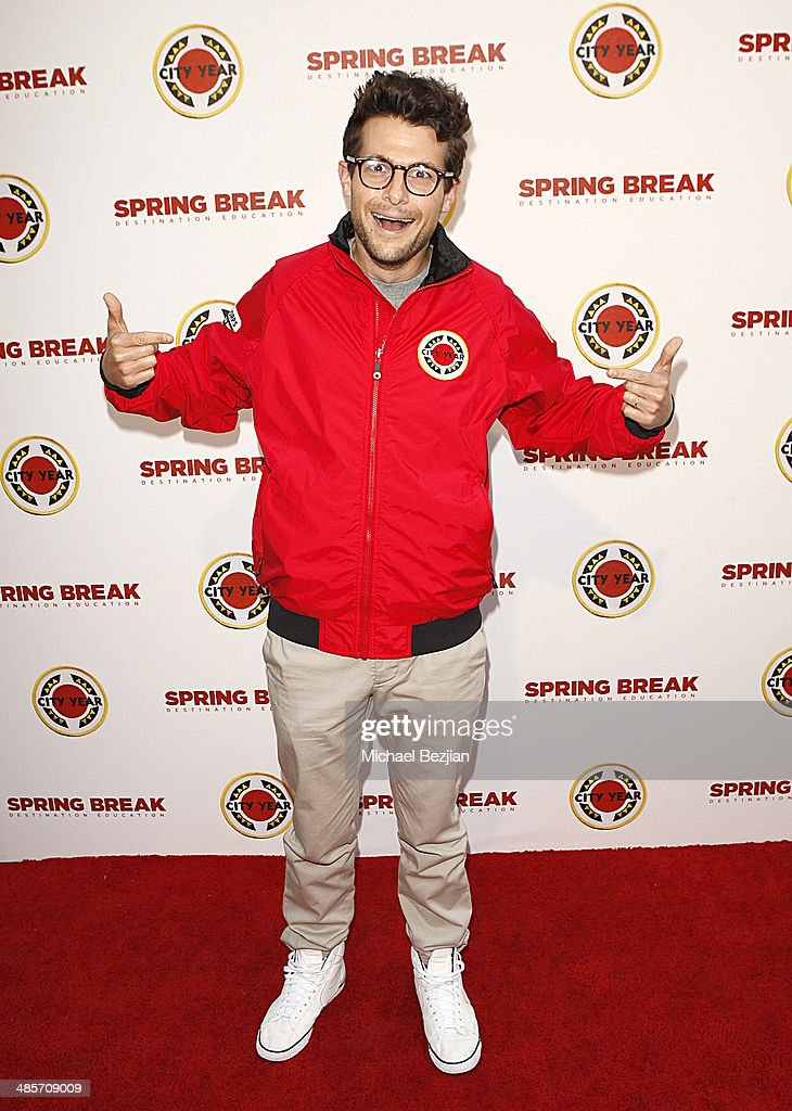 Producer Jacob Soboroff attends the City Year Los Angeles 'Spring Break' Fundraiser at Sony Studios on April 19, 2014 in Los Angeles, California.