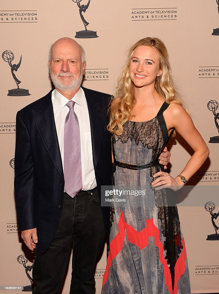 Producer <a gi-track='captionPersonalityLinkClicked' href=/galleries/search?phrase=James+Burrows&family=editorial&specificpeople=799504 ng-click='$event.stopPropagation()'>James Burrows</a> and daughter Paris Burrows attend The Academy Of Television Arts & Sciences' Presents An Evening Honoring <a gi-track='captionPersonalityLinkClicked' href=/galleries/search?phrase=James+Burrows&family=editorial&specificpeople=799504 ng-click='$event.stopPropagation()'>James Burrows</a> held at the Academy of Television Arts & Sciences on October 7, 2013 in North Hollywood, California.