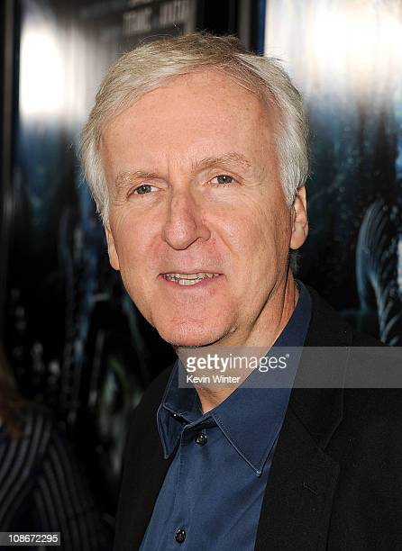 Producer James Cameron attends the Premiere of Universal Pictures' 'Sanctum' at Grauman's Chinese Theatre on January 31 2011 in Hollywood California