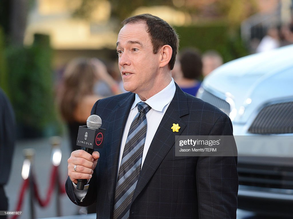Producer James Duff attends the special fan screening of TNT's 'The Closer' series finale held at The Roosevelt Hotel on August 7, 2012 in Hollywood, California.