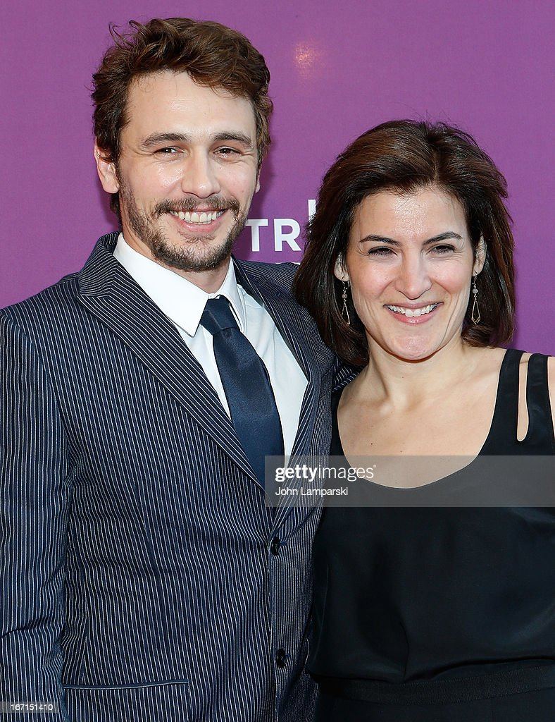 Producer <a gi-track='captionPersonalityLinkClicked' href=/galleries/search?phrase=James+Franco&family=editorial&specificpeople=577480 ng-click='$event.stopPropagation()'>James Franco</a> and Jenna Terranova attend the screening of 'The Director' during the 2013 Tribeca Film Festival>> at SVA Theater on April 21, 2013 in New York City.