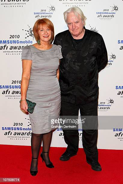 Producer Jan Chapman and Stephen ORourke arrive at the 2010 Samsung Mobile AFI Industry Awards at the Regent Theatre on December 10 2010 in Melbourne...