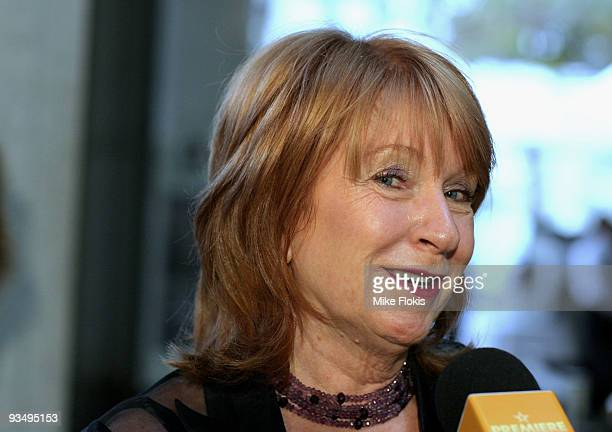 Producer Jan Chapman arrives for the Australian Premiere of 'Bright Star' at Dendy Opera Quays on November 30 2009 in Sydney Australia