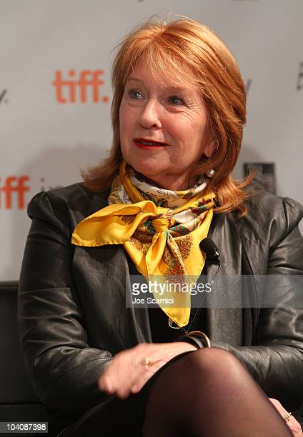 Producer Jan Chapman attends Focus On Cinematic Bedfellowsduring the 35th Toronto International Film Festival at Filmmaker's Lounge on September 14...