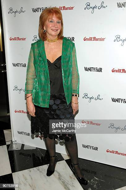 Producer Jan Chapman attends the Premiere of 'Bright Star' Presented by Vanity Fair Apparition at Paris Theatre on September 14 2009 in New York New...