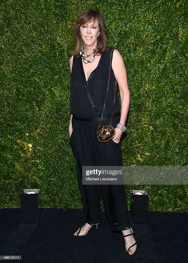Producer <a gi-track='captionPersonalityLinkClicked' href=/galleries/search?phrase=Jane+Rosenthal&family=editorial&specificpeople=202835 ng-click='$event.stopPropagation()'>Jane Rosenthal</a> attends the CHANEL Tribeca Film Festival Artists Dinner at Balthazar on April 22, 2014 in New York City.