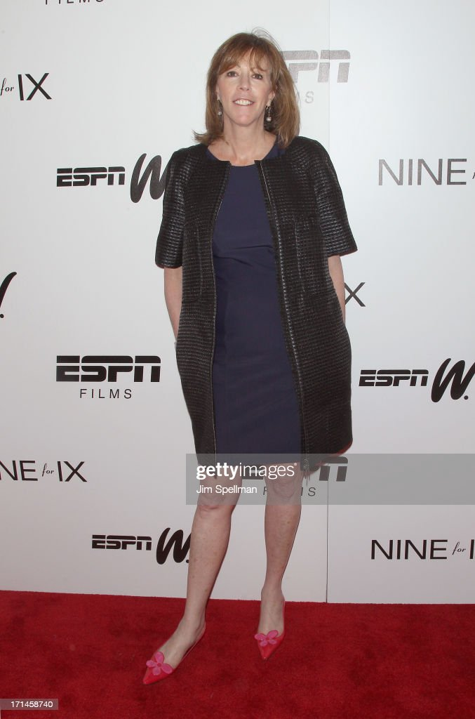 Producer Jane Rosenthal attends 'Venus Vs' and 'Coach' New York Special Screening at Paley Center For Media on June 24 2013 in New York City