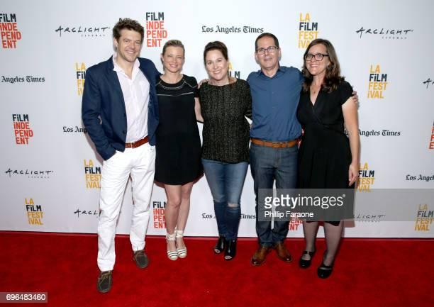 Producer Jason Blum actor Amy Smart director Karen Moncrieff producer John Miranda and screenwriter Rebecca Sonnenshine attend the screening of 'The...