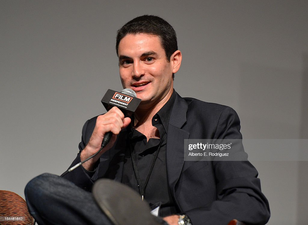 Producer Jason Michael Berman speaks onstage during Film Independent Film Forum at Directors Guild of America on October 20, 2012 in Los Angeles, California.
