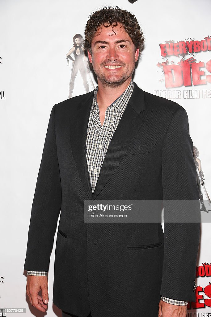 Producer Jason Teague attends the premiere of 'Kill Her, Not Me' during the closing night of the Everybody Dies Film Festival on September 15, 2013 in Brea, California.