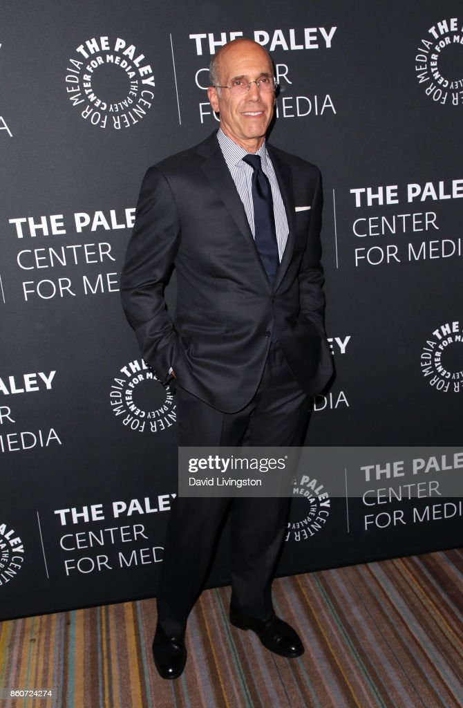 Producer Jeffrey Katzenberg attends Paley Honors in Hollywood: A Gala Celebrating Women in Television at the Beverly Wilshire Four Seasons Hotel on October 12, 2017 in Beverly Hills, California.