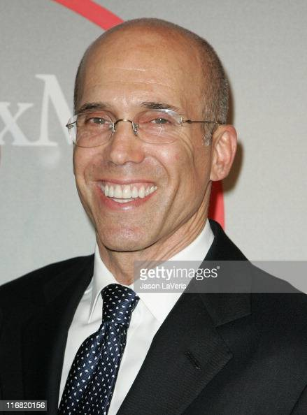 Producer Jeffrey Katzenberg attends the Crystal Lucy Awards 2008 celebrating women in film at the Beverly Hilton Hotel on June 17 2008 in Beverly...