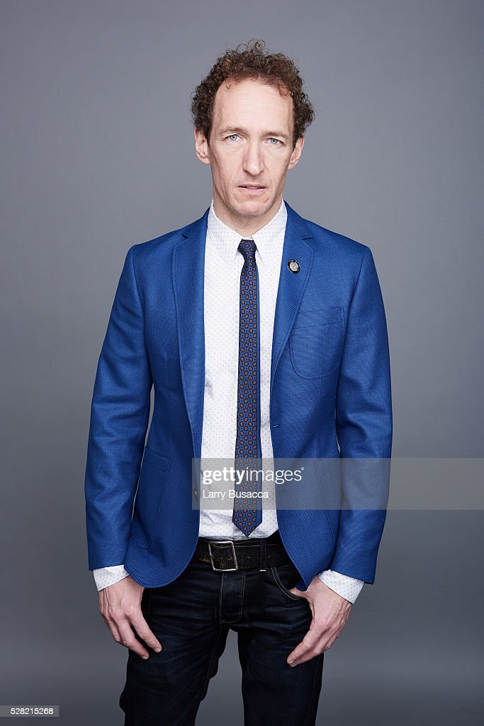 Producer Jeffrey Seller poses for a portrait at the 2016 Tony Awards Meet The Nominees Press Reception on May 4, 2016 in New York City.