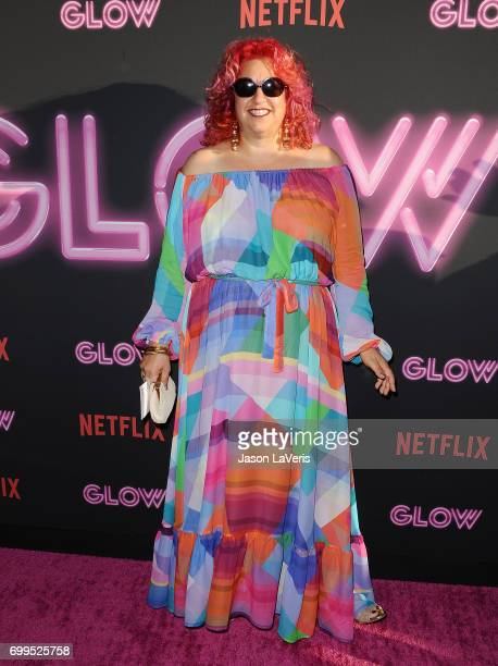 Producer Jenji Kohan attends the premiere of 'GLOW' at The Cinerama Dome on June 21 2017 in Los Angeles California