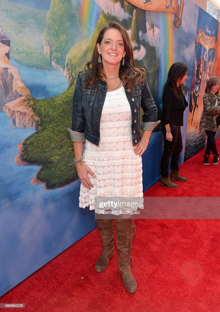 Producer Jenni Magee Cook attends Disney's 'The Pirate Fairy' World Premiere at Walt Disney Studios on March 22, 2014 in Burbank, California. On Blu-ray and Digital HD April 1.