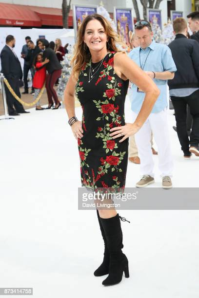 Producer Jennifer MageeCook arrives at the Premiere of Columbia Pictures' 'The Star' at the Regency Village Theatre on November 12 2017 in Westwood...
