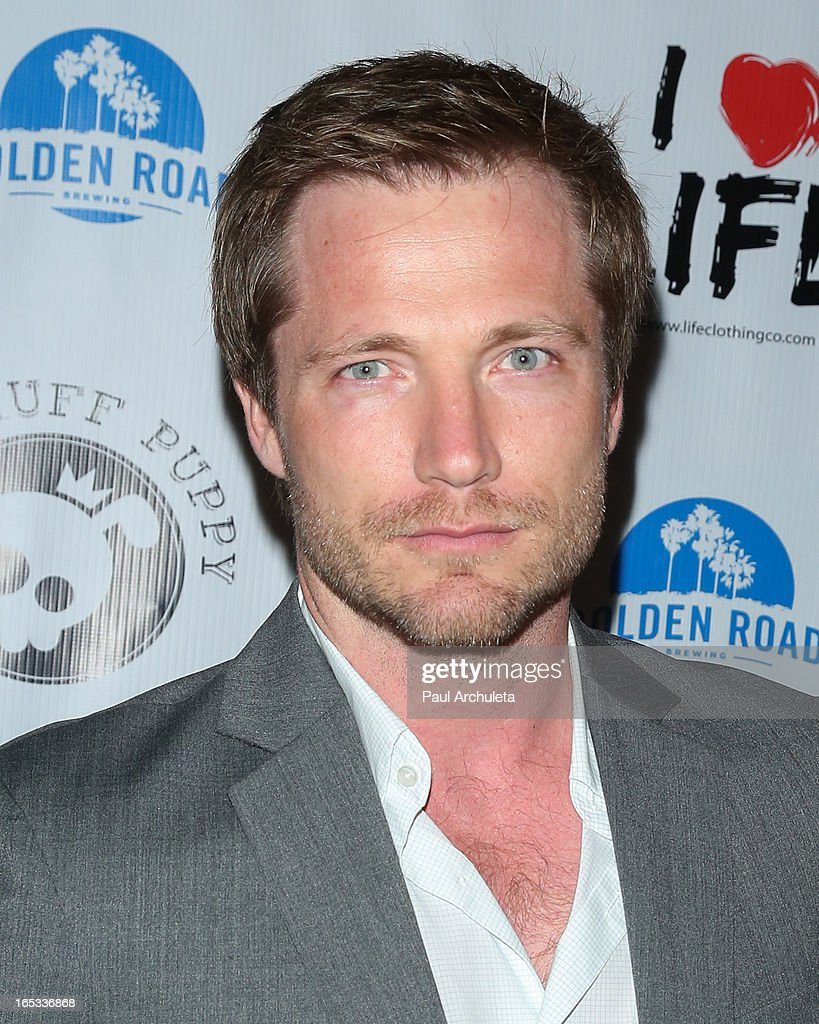Producer Jeremiah Alley attends the No Kill LA charity event at Fred Segal on April 2, 2013 in West Hollywood, California.