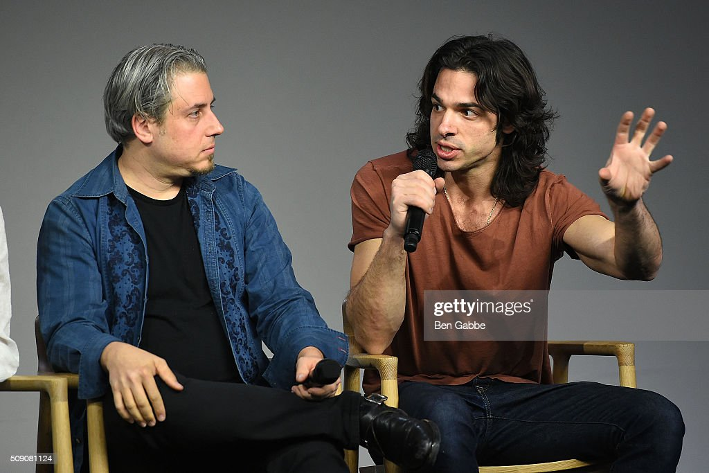 Producer Jeremy Alter (L) and director Paul Dalio attend Apple Store Soho presents 'Meet the Filmmaker' at Apple Store Soho on February 8, 2016 in New York City.