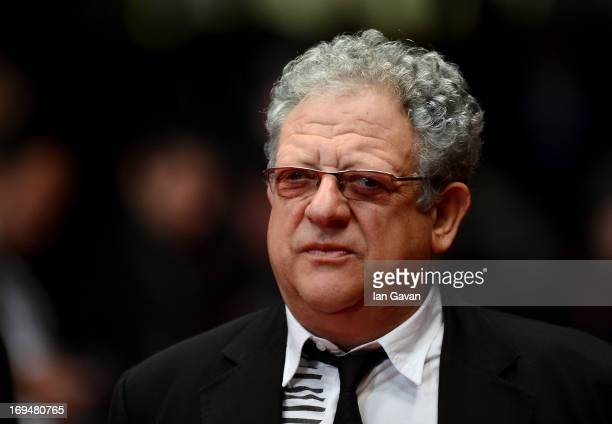 Producer Jeremy Thomas attends the 'Only Lovers Left Alive' premiere during The 66th Annual Cannes Film Festival at the Palais des Festivals on May...
