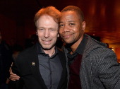 Producer Jerry Bruckheimer and actor Cuba Gooding Jr attend the launch party for legendary producer Jerry Bruckheimer's book 'Jerry Bruckheimer When...
