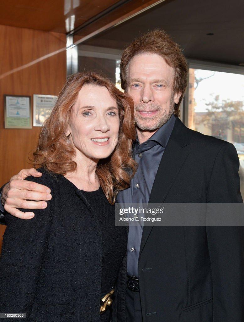 Producer Jerry Bruckheimer and Linda Bruckheimer attend the launch party for legendary producer Jerry Bruckheimer's book 'Jerry Bruckheimer When...