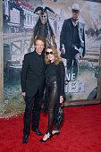 Producer Jerry Bruckheimer and wife Linda Bruckheimer arrive at Disney's 'The Lone Ranger' World Premiere at Disney's California Adventure on June 22...