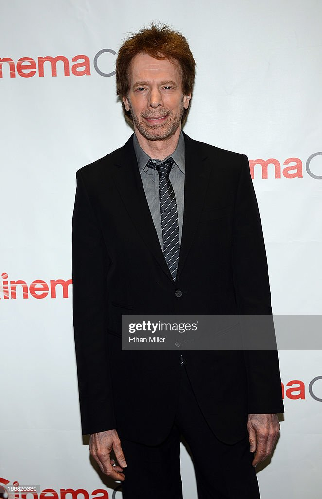 Producer Jerry Bruckheimer arrives at a Walt Disney Studios Motion Pictures presentation to promote the upcoming film 'The Lone Ranger' at Caesars Palace during CinemaCon, the official convention of the National Association of Theatre Owners, on April 17, 2013 in Las Vegas, Nevada.