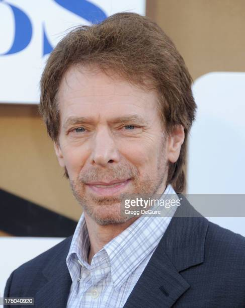 Producer Jerry Bruckheimer arrives at the CBS/CW/Showtime Television Critic Association's summer press tour party at 9900 Wilshire Blvd on July 29...