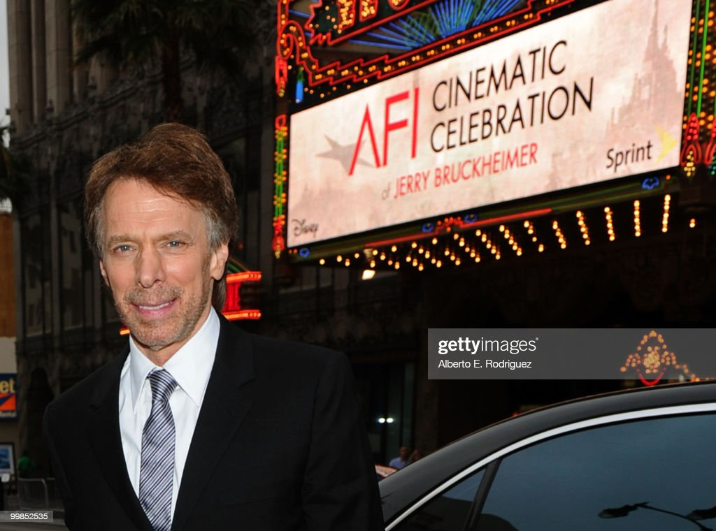 Producer Jerry Bruckheimer arrives at the 'Prince of Persia: The Sands of Time' Los Angeles premiere held at Grauman's Chinese Theatre on May 17, 2010 in Hollywood, California.
