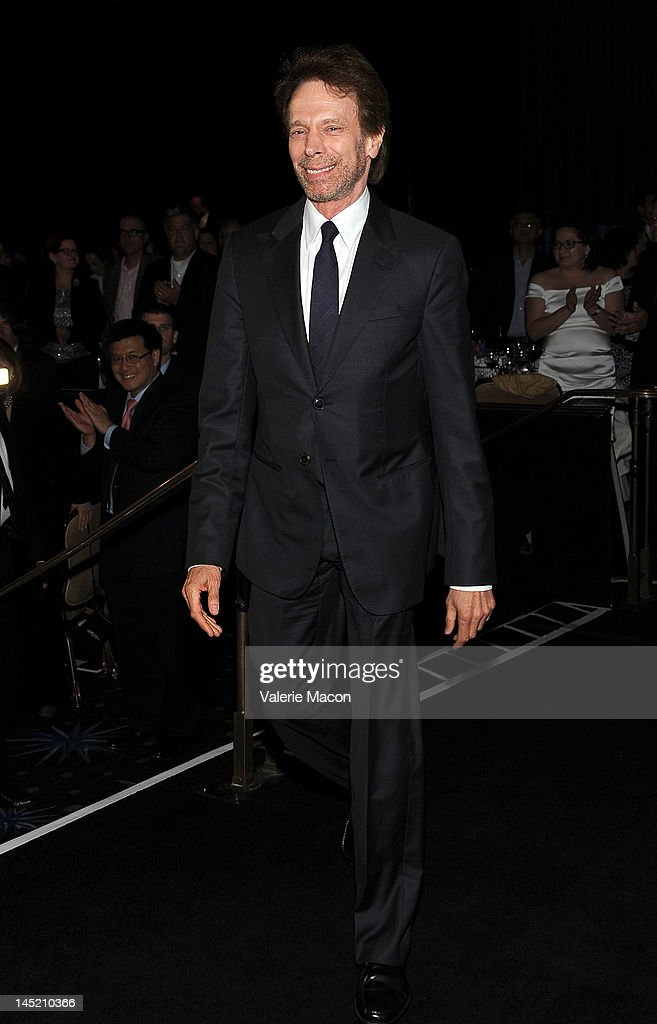 Producer Jerry Bruckheimer arrives at the Simon Wiesenthal Center's Annual National Tribute Dinner Honoring Jerry Bruckheimer at The Beverly Hilton Hotel on May 23, 2012 in Beverly Hills, California.