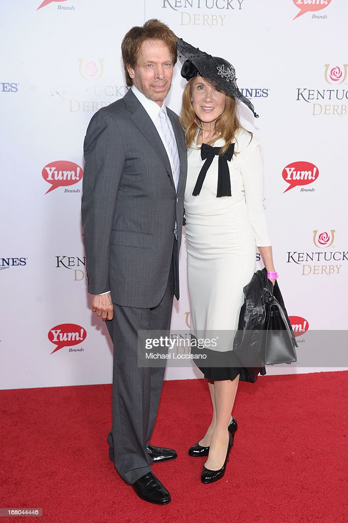 Producer Jerry Bruckheimer (L) attends the 139th Kentucky Derby at Churchill Downs on May 4, 2013 in Louisville, Kentucky.