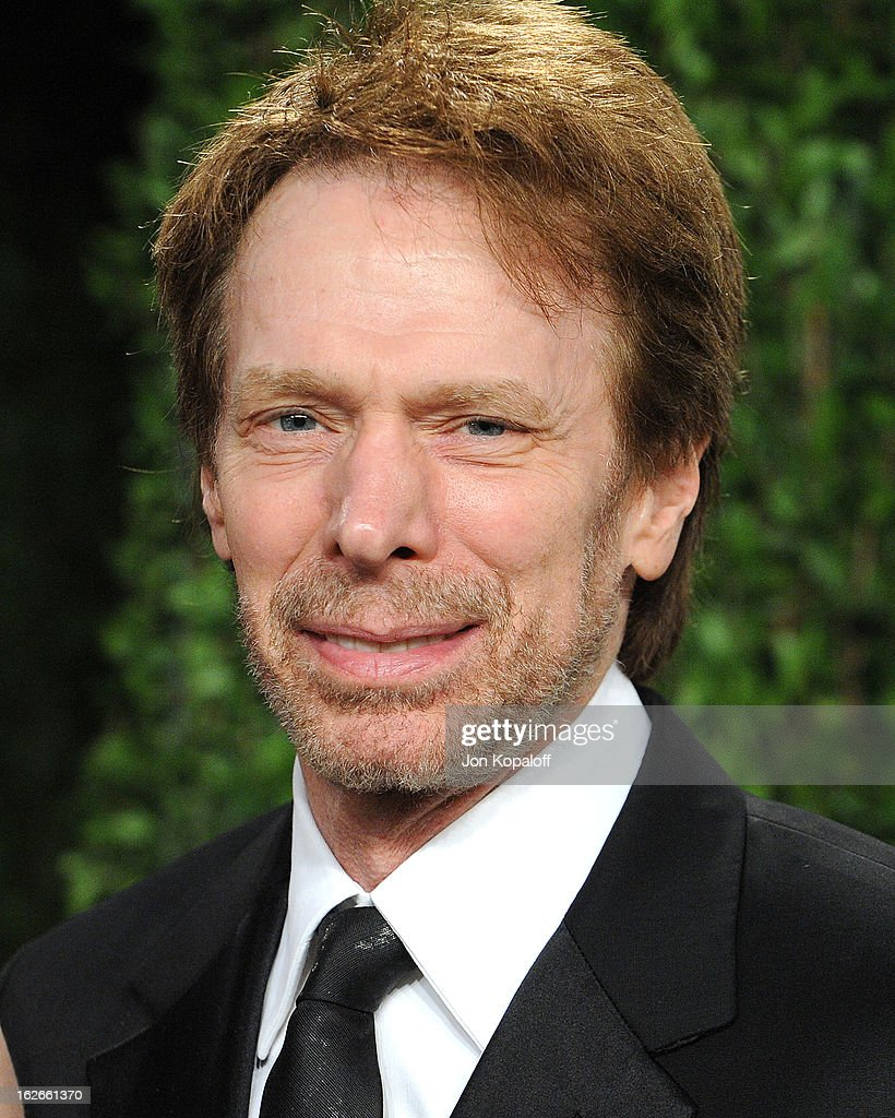 Producer Jerry Bruckheimer attends the 2013 Vanity Fair Oscar party at Sunset Tower on February 24, 2013 in West Hollywood, California.