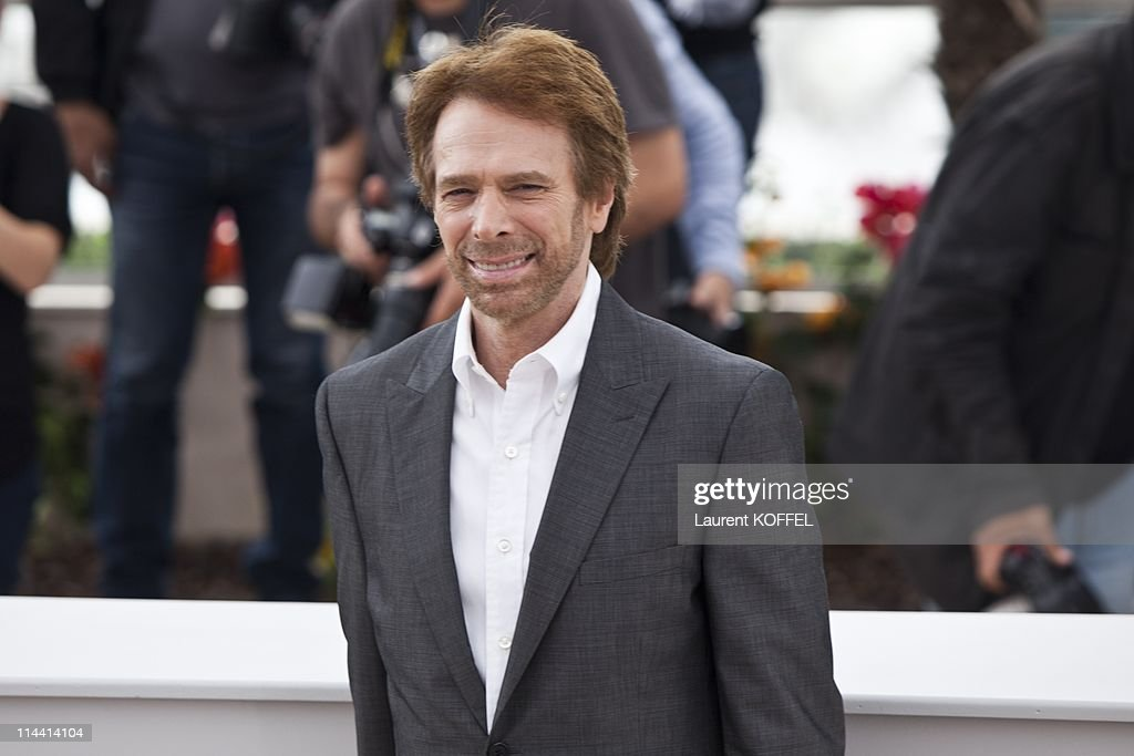 US producer <a gi-track='captionPersonalityLinkClicked' href=/galleries/search?phrase=Jerry+Bruckheimer&family=editorial&specificpeople=203316 ng-click='$event.stopPropagation()'>Jerry Bruckheimer</a> attends the 'Pirates of the Caribbean: On Stranger Tides' Photocall during the 64th Annual Cannes Film Festival at Palais des Festivals on May 14, 2011 in Cannes, France.