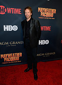 Producer Jerry Bruckheimer attends the SHOWTIME And HBO VIP PreFight Party for 'Mayweather VS Pacquiao' at MGM Grand Hotel Casino on May 2 2015 in...