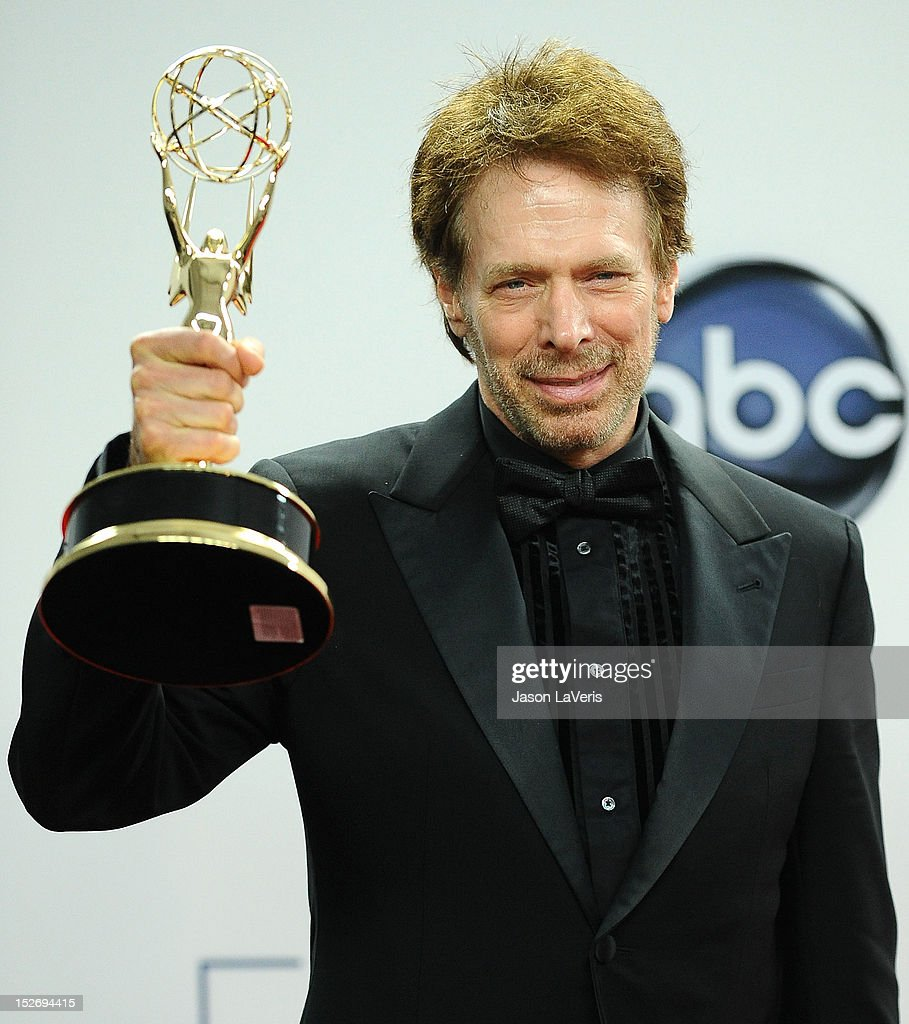 Producer Jerry Bruckheimer poses in the press room at the 64th Primetime Emmy Awards at Nokia Theatre L.A. Live on September 23, 2012 in Los Angeles, California.