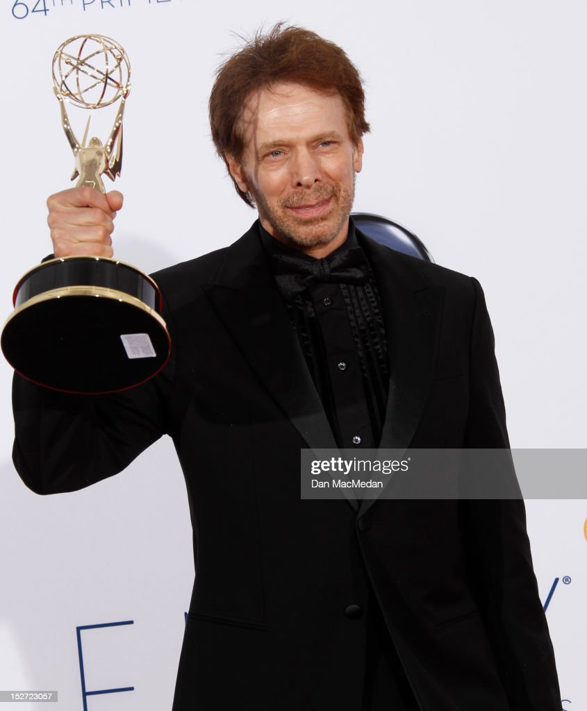 Producer Jerry Bruckheimer poses in the press room at the 64th Primetime Emmy Awards held at Nokia Theatre L.A. Live on September 23, 2012 in Los Angeles, California.