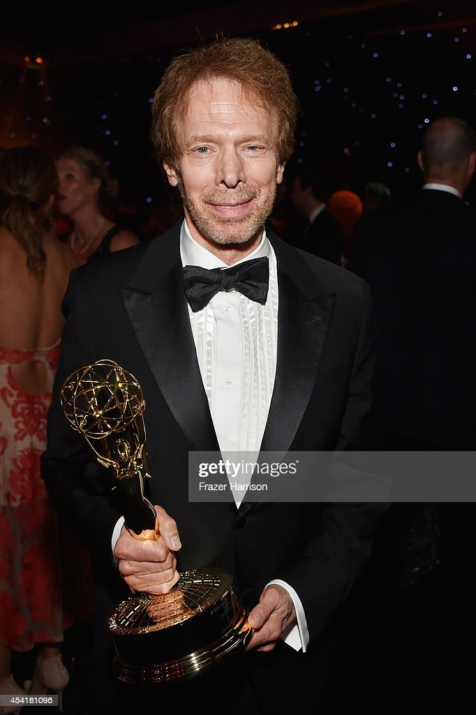 Producer Jerry Bruckheimer, winner of the Outstanding Reality - Competition Program for The Amazing Race, attends the 66th Annual Primetime Emmy Awards Governors Ball held at Los Angeles Convention Center on August 25, 2014 in Los Angeles, California.