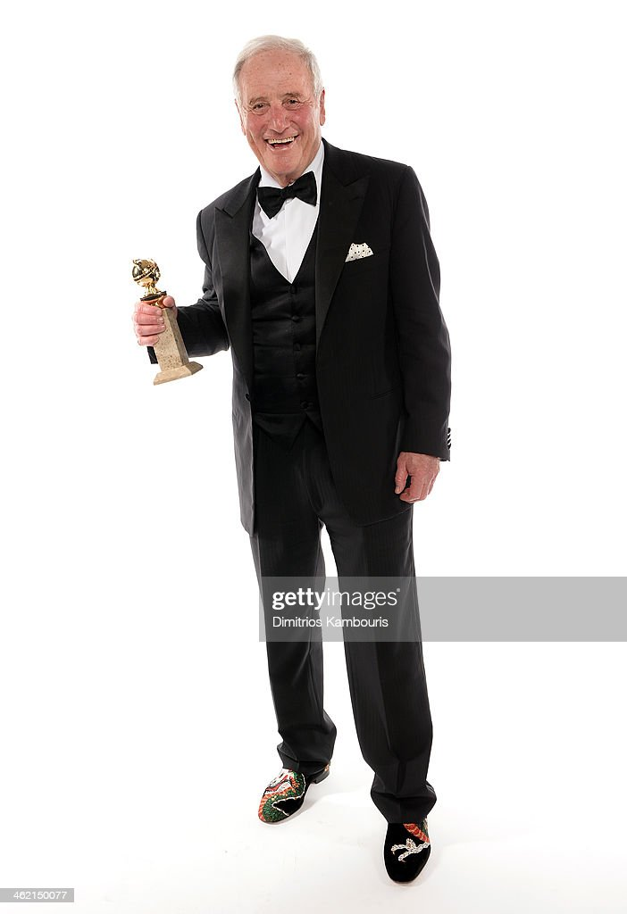Producer Jerry Weintraub winner of Best Miniseries or Television Film for 'Behind the Candelabra' poses for a portrait during the 71st Annual Golden...