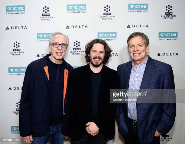 Producer Jerry Zucker and directors Edgar Wright and David Zucker attend the screening of 'The Kentucky Fried Movie' during the 2017 TCM Classic Film...