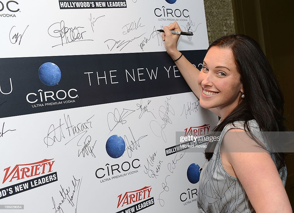 Producer Jessica Rhoades attends Variety's Hollywood's New Leaders presented by Ciroc at Soho House on October 29, 2012 in West Hollywood, California.