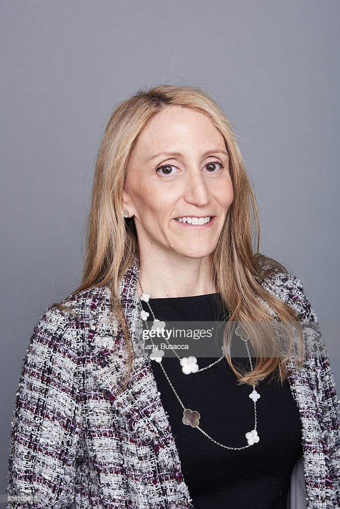Producer Jill Furman poses for a portrait at the 2016 Tony Awards Meet The Nominees Press Reception on May 4, 2016 in New York City.
