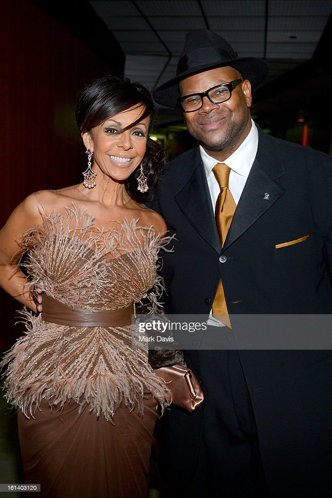 Producer Jimmy Jam and Lisa Harris attend the 55th Annual GRAMMY Awards at STAPLES Center on February 10, 2013 in Los Angeles, California.