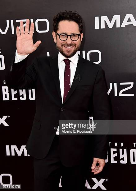 Producer JJ Abrams attends the premiere of Paramount Pictures' 'Star Trek Beyond' at Embarcadero Marina Park South on July 20 2016 in San Diego...